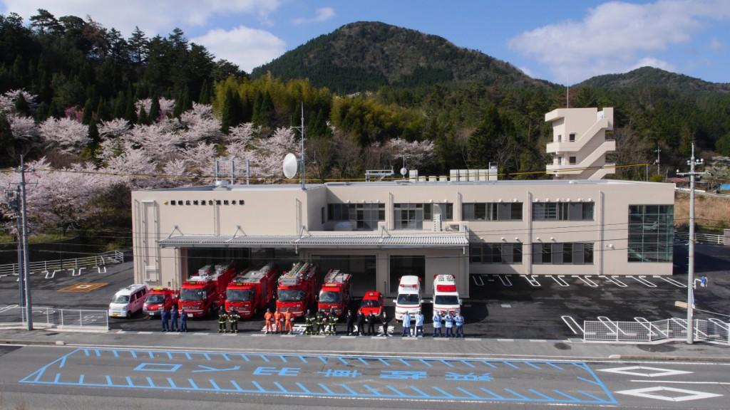写真:隠岐広域連合消防本部