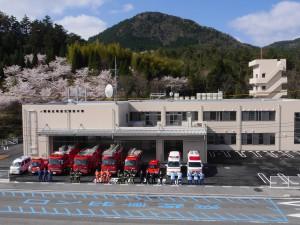 写真:隠岐広域連合消防本部隠岐島消防署